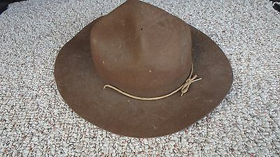 Rare Canadian Boy Scout Hat 1930's  Boy  Scout Of America  Early Bsa Uniform Hat