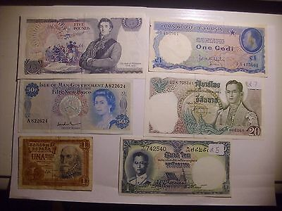 28X Quality Banknotes And Old Travelers Cheques Very Nice No Junk