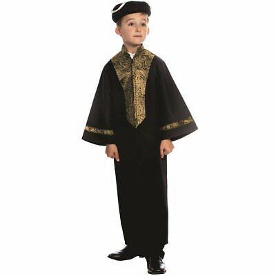 Sephardic Chacham Rabbi Costume for Kids By Dress Up America