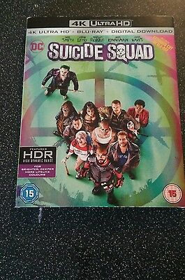 Suicide squad 4K Blu Ray