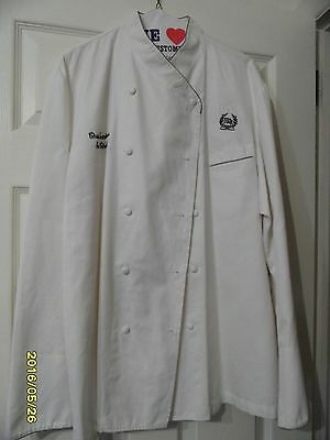 Vintage Waldorf Astoria Chef's Jacket By Bragaard - Made In France