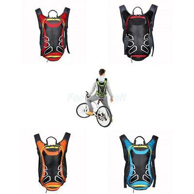 15L Bicycle Cycling Hiking Backpack Hydration Pack Helmet Water Bladder Bag