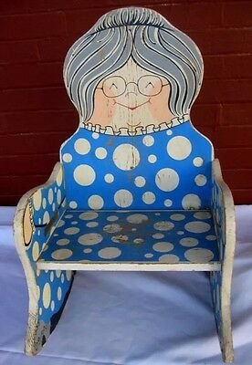Mattel Vintage GRAMMA Rocking Chair By Joyce Miller Original Exclusively Sears