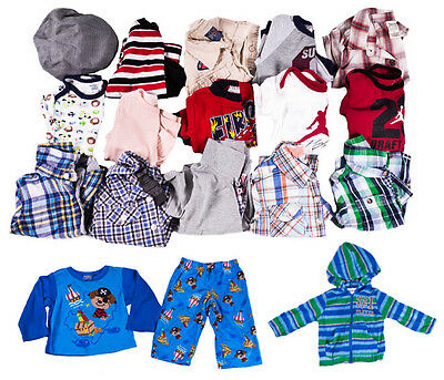 18 Piece Lot of Baby Boys Clothing (Sizes 12M & 6-12M)