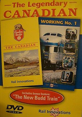 The Legendary Canadian on DVD by Rail Innovations