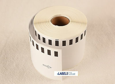 6 Rolls - Brother DK2205 Compatible Labels  for QL-700 QL-500 - Continuous Roll