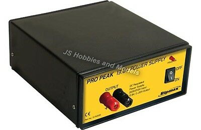 Ripmax Pro-Peak Power Supply 13.8V 20A 275W for 12v Battery Chargers etc