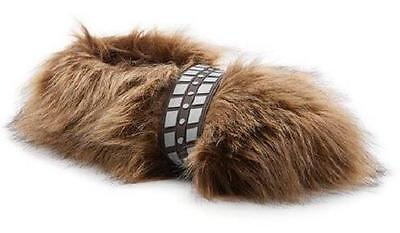 NEW Mens Star Wars Wookie Feet Chewbacca  Brown Slippers Shoes SZ 10/11