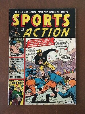 Sports Action Comic #5 Iowa Hawkeyes and Nile Kinnick Story