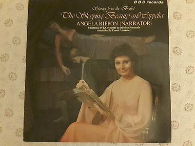 THE SLEEPING BEAUTY and COPPELIA narrated byAngela Rippon 1979 rare BBC Vinyl LP