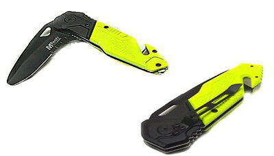 Coltello Mtech Rescue Yellow Da Soccorso [47810402]
