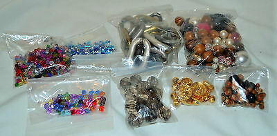Job Lot of Beads for Jewellery Making and Crafts