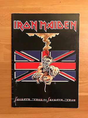 Iron Maiden - Intercity Express Tour Programme