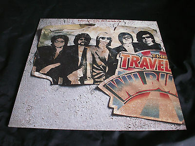 TRAVELING WILBURYS 'Volume One' 1988 LP with inner. EX/EX/EX