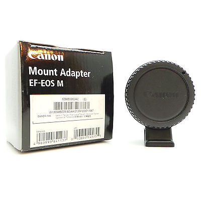Canon EF-EOS M Lens Mount Adapter. EOS-M M2, M3, M5 Boxed