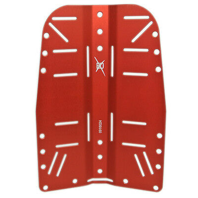 EXD Backplate Edelstahl 3 mm WIS rot
