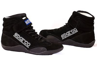 Sparco 00127095N Race Black Driving Shoe SIZE 9.5 NEW