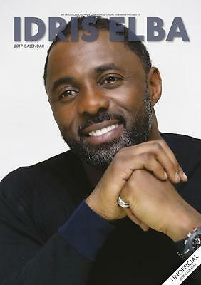 Idris Elba 2017 Large A3 Poster Size Wall Calendar New & Sealed  By Red Star