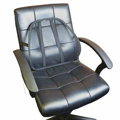 Lumbar Back Support Office Chair Car Seat Cushion Pillow Body Pain Relief Drive
