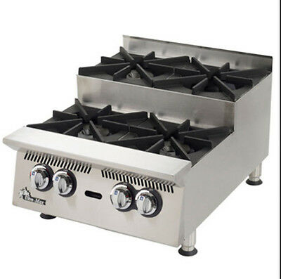 Star 804HA-SU Ultra-Max® Counter Top 4 Burner Step-Up Hot Plate