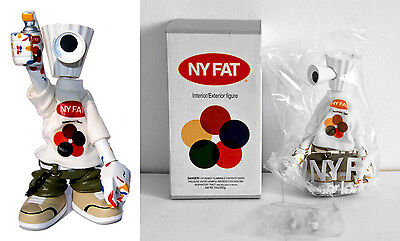 NEW - Michael Lau - NY fat - White T-shirt - First Edition - 500 pcs - 2002