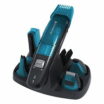 New Remington PG6070 Vacuum Personal Advanced 5 in 1 Grooming Kit Advanced