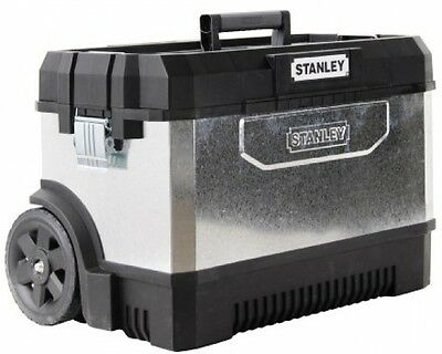 Wheeled Mobile Tool Box Rolling Roller Case Cabinet Trolley Chest With Wheels