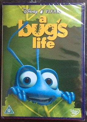 A Bugs Life Disney Pixar Dvd New & Sealed Mint Condition  Free Post