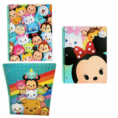 DISNEY TSUM TSUM MICKEY School 2 Subject Spiral Theme Book 50 sheets Notebooks