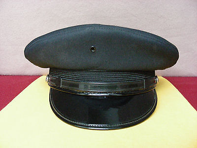 """"""" POLICE OFFICER? DRESS HAT by LEON UNIFORM - ST. LOUIS, MO. """":   7 5/8 - 7 7/8!"""