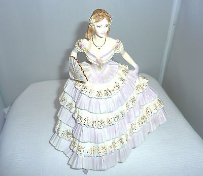 Belle Of The Ball, Royal Worcester ,1994 Limited Edition 396 Fine China Figurine
