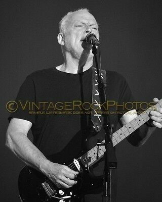 David Gilmour Photo 8x10 inch 2016 MSG NYC NY Rattle That Lock Concert Tour 110b