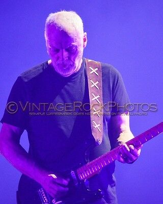 David Gilmour Photo 8x10 inch 2016 MSG NYC, NY Rattle That Lock Concert Tour 74