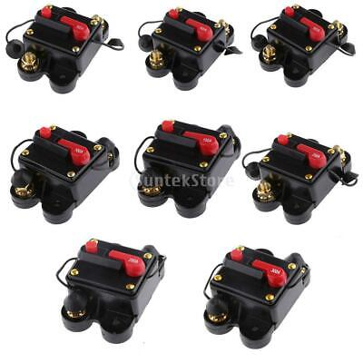 20AMP - 300 Amp DC Circuit Breaker Manual Reset Switch RV Car Audio Fuse Holder