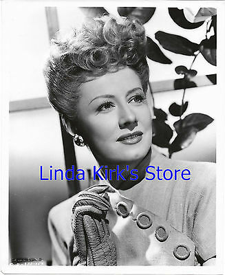 Irene Dunne Promotional Photograph Head Shot Gloves Beautiful Glamour Shot