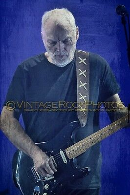 David Gilmour Photo 8x12 inch 2016 Concert Tour Ltd Edition Art Design Print 165