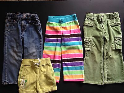 Mixed Lot Of Girls 3T Pants And Shorts Baby GAP