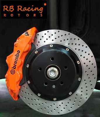 Big Brake Kit 362mm GT 6 Calipers Brembo AP Racing All Audi S2 S3 RS3 S4 S5 RS