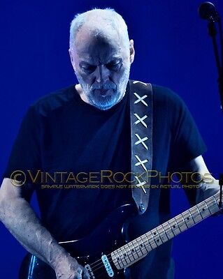 David Gilmour Photo 8x10 inch 2016 Concert Tour Ltd Edition Art Design Print 196
