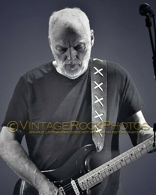 David Gilmour Photo 8x10 in 2016 Concert Tour Ltd Edition Art Design Print 190b