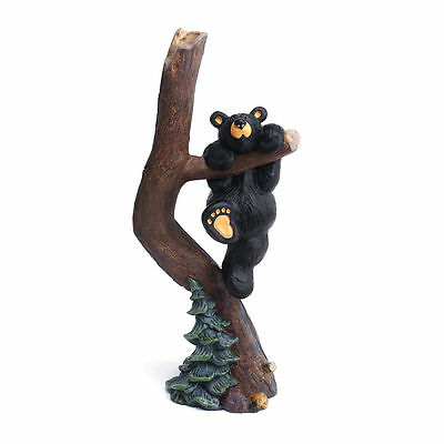 NEW BIG SKY CARVERS JEFF FLEMING BEARFOOTS BEAR FIGURINE -  Hang in There Too