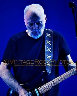 David Gilmour Photo 8x10 inch 2016 Concert Tour Ltd Edition Art Design Print 187