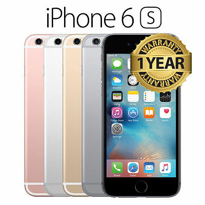 Apple iPhone 6S 16GB 64GB Brand New Sealed Unlocked Smart Phone Gold Silver Gray