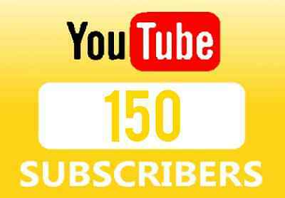150 Youtube Subscriber +Real-Subscribers+