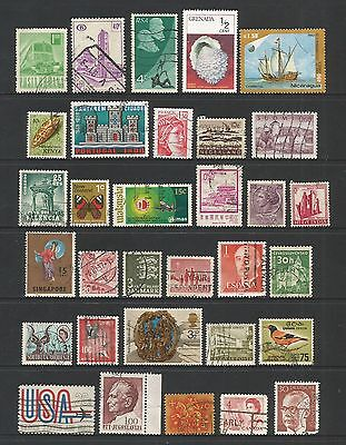 WORLD STAMPS - mixed collection, Lot No.103, all different
