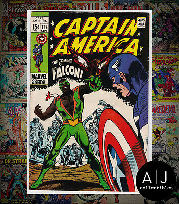 Captain America #117 (W Marvel B) FN! HIGH RES SCANS!