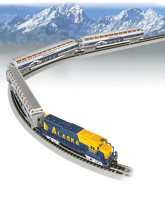 Bachmann-McKinley Explorer Train Set -- Alaska Railroad - N