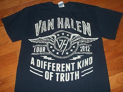 "VAN HALEN ""A Different Kind of Truth"" 2012 US tour shirt Adult Small"