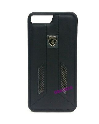 "Lamborghini Huracan-D6 Leather Back Cover Case for iPhone 7 / 8 (4.7"") Black"