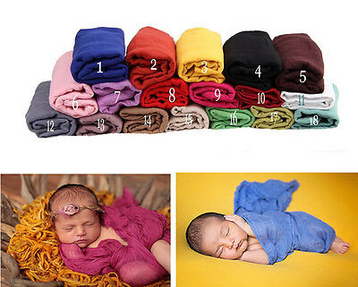 Baby Girl Boy Unisex Clothes Newborn Wrapped Blanket Photography Props Scarf